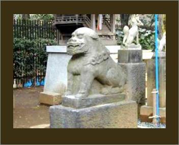 【イメージ】狛犬