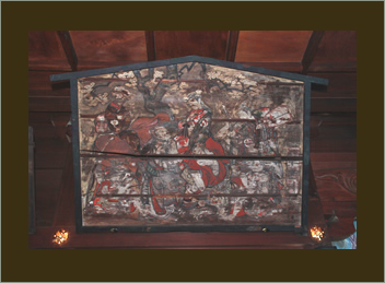 【イメージ】七人役者図絵馬(新宿区指定有形文化財)