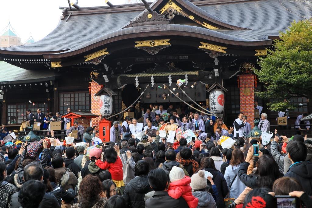 【新宿区】節分イベント/豆まき まとめ|神社の節分祭や豆まき ...